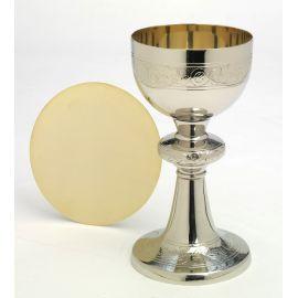 Kielich srebrny + patena - 20 cm
