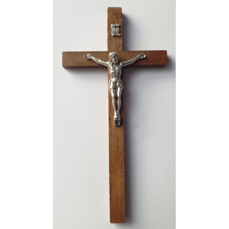Krzyż drewniany - ciemny 20x10 cm