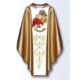 Ornat z wizerunkiem Jana Pawła II i MB Częstochowska (2)