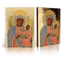 Ikona Matka Boża Częstochowska w sukience perłowej