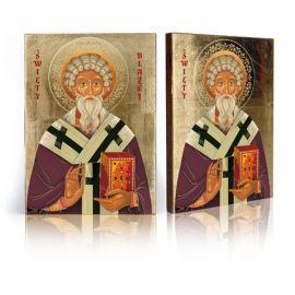 Ikona religijna Święty Błażej