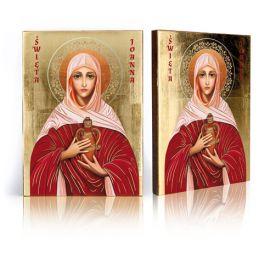 Ikona religijna Święta Joanna