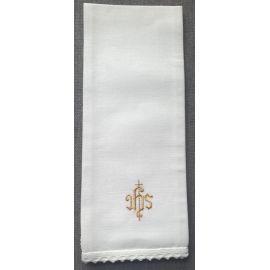 Puryfikaterz złoty IHS styl gotycki - 100 % bawełna