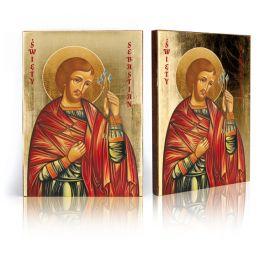 Ikona religijna Święty Sebastian