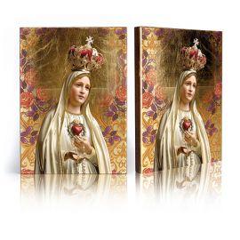 Ikona religijna Matka Boża Fatimska (1)