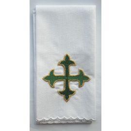 Puryfikaterz - zielony krzyż - 100 % bawełna
