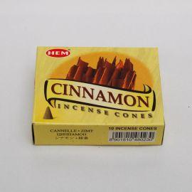 Kadzidło stożkowe - Cynamon (10 stożków)