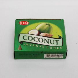 Kadzidło stożkowe - Kokos (10 stożków)