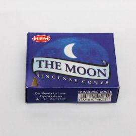 Kadzidło stożkowe - The Moon - Księżyc (10 stożków)