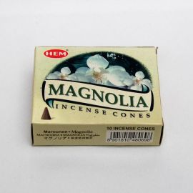 Kadzidło stożkowe - Magnolia (10 stożków)