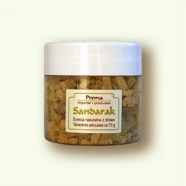 Sandarak - żywica naturalna 70g