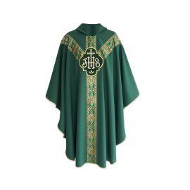 Ornat semi gotycki IHS - kolory liturgiczne (13)
