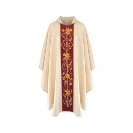 Ornat gotycki IHS żorżeta - kolory liturgiczne (20)