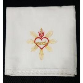 Korporał Serce w koronie - 100 % bawełna