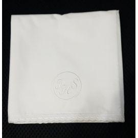 Korporał biały IHS w kole - 100 % bawełna