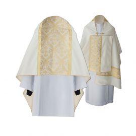 Welon liturgiczny, tkana złota nić (14)