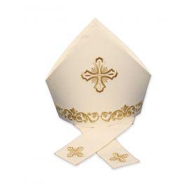 Mitra haftowana krzyże (2)