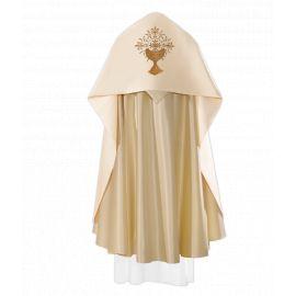 Welon liturgiczny Kielich, IHS haftowany (25)