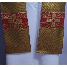 Stuła kapłańska złota nr. 8