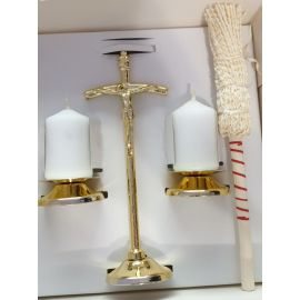 Komplet kolędowy papieski złoty (23)
