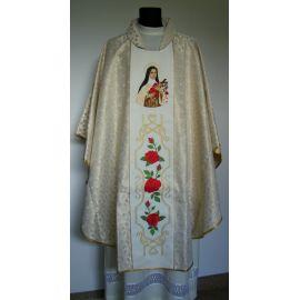 Ornat haftowany św. Teresa od Dzieciątka Jezus