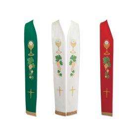 Stuła kapłańska eucharystyczna - 3 kolory