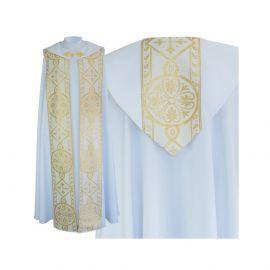 Kapa wzór gotycki - tkanina bawełna-stretch (3)