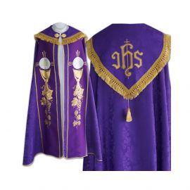 Kapa  wzór gotycki IHS - tkanina żakard (18)