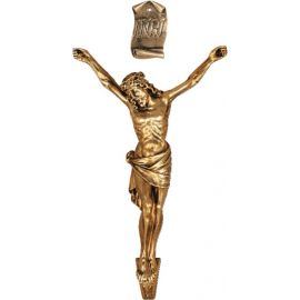 Korpus Chrystusa na krzyż 65/35 cm.