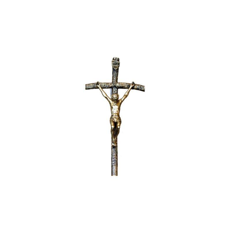 Krzyż Papieski z zawieszką 55/30 cm.