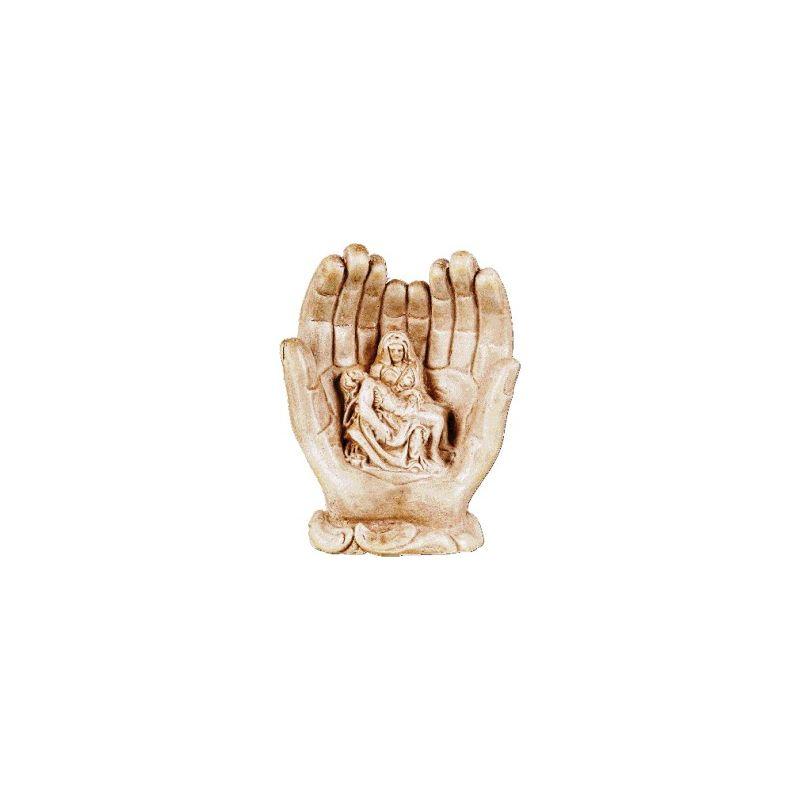 Pieta w dłoniach 14 cm.