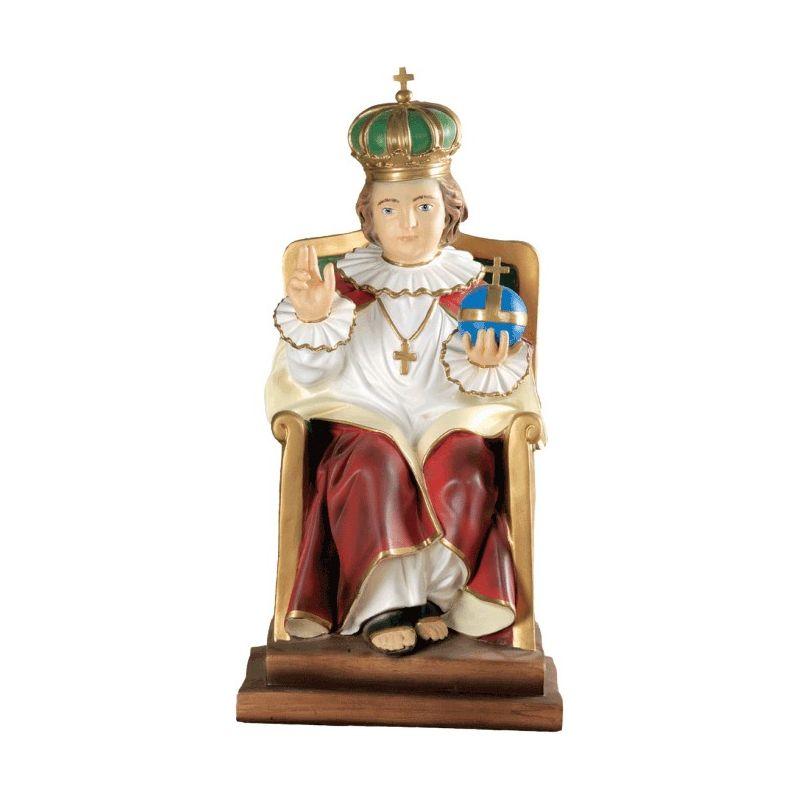 Dzieciątko Jezus na tronie 60 cm.