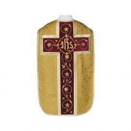 Ornat rzymski IHS - złoty (27)