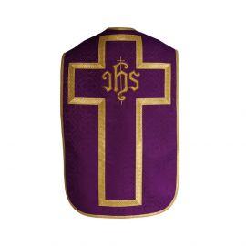 Ornat rzymski - kolory liturgiczne, żakard (29)
