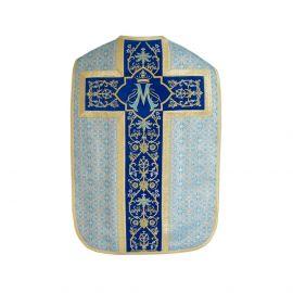Ornat rzymski Maryjny - niebieski (31)