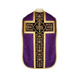 Ornat rzymski IHS - kolory liturgiczne, żakard (36)