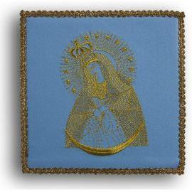 Palka haftowana niebieska - MB Ostrobramska