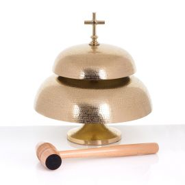 Gong mosiężny 31 cm / 22 cm