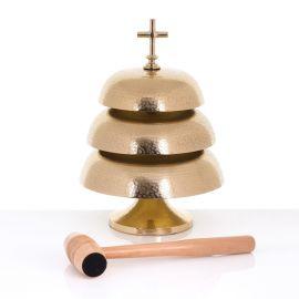 Gong mosiężny 25 cm / 22 cm / 18 cm