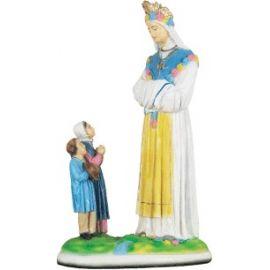 Matka Boża Saletyńska z dziećmi - rozmawiająca 51 cm.