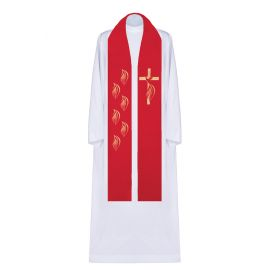 Stuła haftowana Duch Święty (1)