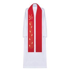 Stuła haftowana Duch Święty (3)