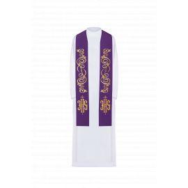 Stuła haftowana - kolory liturgiczne (31)