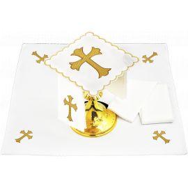 Bielizna kielichowa Krzyż - haft (145)