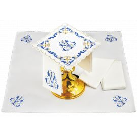 Bielizna kielichowa wzór Maryjny - haft (92)