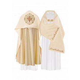 Welon liturgiczny IHS haftowany (16)
