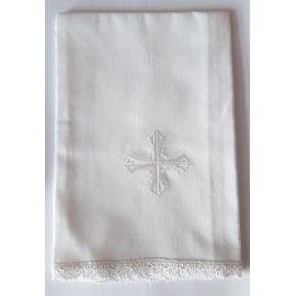 Korporał biały krzyż - 100% bawełny (k)