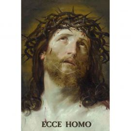 Plakat religijny – Ecce Homo (5)