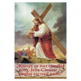 Plakat religijny - Któryś za nas cierpiał rany (12)
