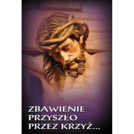 Plakat religijny - Zbawienie przyszło przez krzyż (14)
